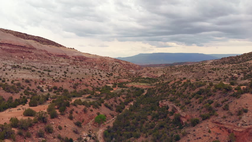 4K drone footage captured in Rough Canyon, near Colorado National Monument.