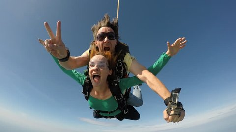 Skydiving tandem in Rio de Janeiro