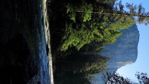 Beautiful morning shot of the Merced River in Yosemite.