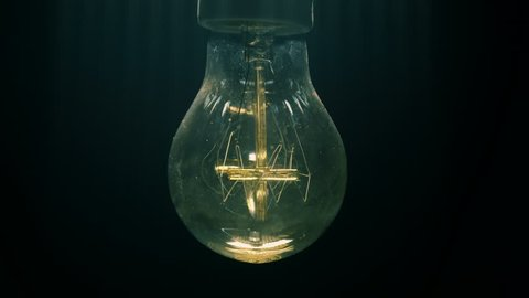 Exposure of multiple types of vintage light bulbs