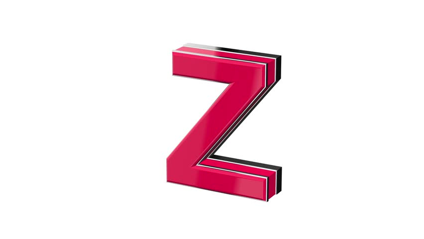 Letter Z Footage Stock Clips