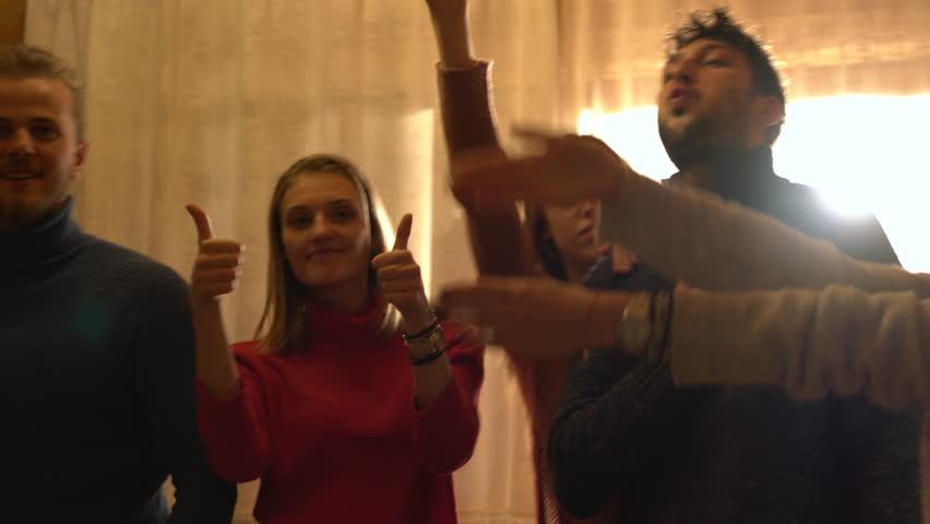 Friends having fun | Shutterstock HD Video #1012456652