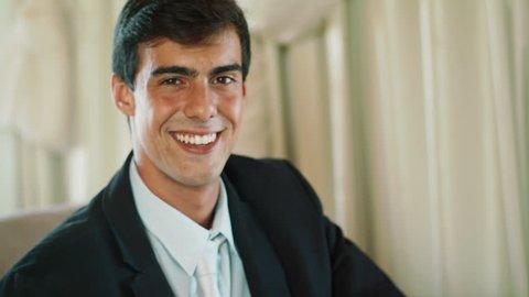 Portrait Of Successful Businessman Entrepreneur