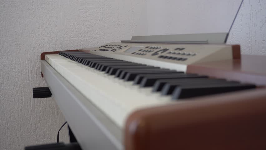 Header of pianoforte