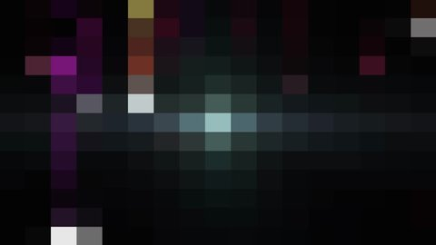 abstract pixel block moving background New quality universal motion dynamic animated retro vintage colorful joyful dance music video footage