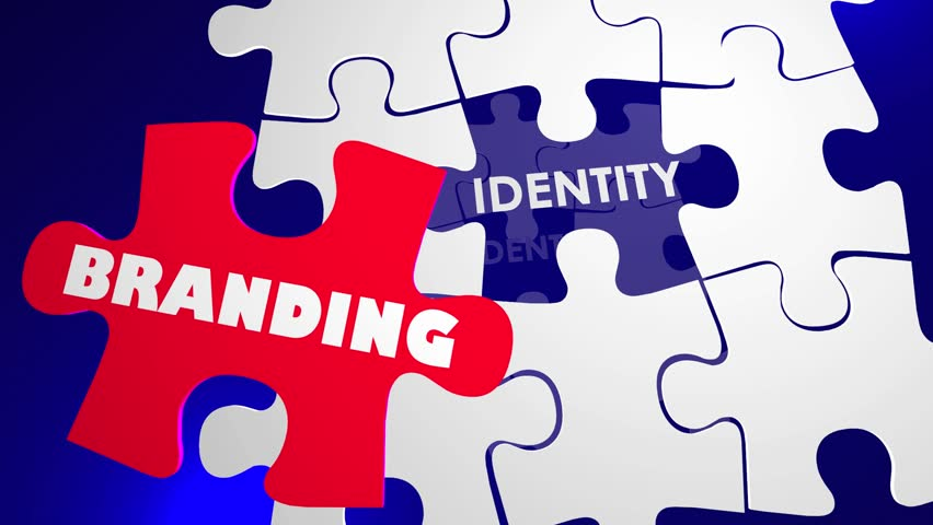 Branding Identity Marketing Management Puzzle 3d Animation