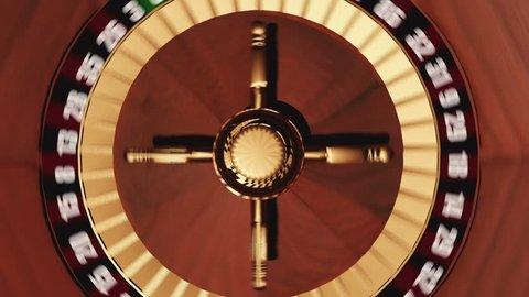 Roulette wheel CGI