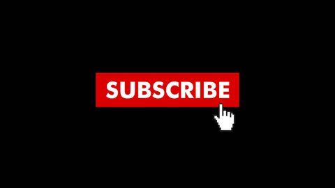 Animation of a Subscribe Button fo Youtube. Choose your favourite Subscribe Button Animation and simply place it into your Videos. The Background in this Video is Transparent and has a Alpha Channel.