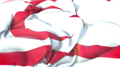 turkish republic of northern cyprus flag.Flag of turkish republic of northern cyprus Beautiful 3d animation of turkish republic of northern cyprus flag in loop mode.