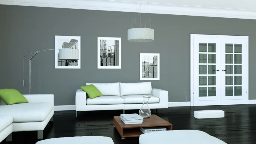 Building Up Modern Living Room Stock Footage Video 100 Royalty Free 1012952282 Shutterstock