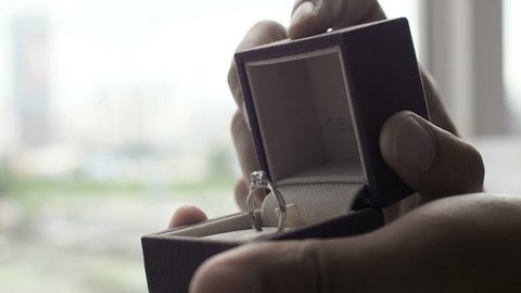 give wedding ring to your love