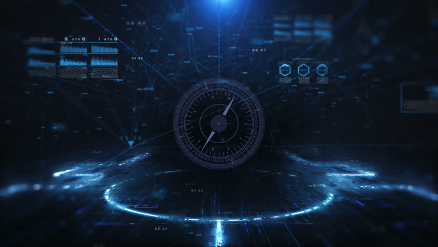 Digital technology and science background