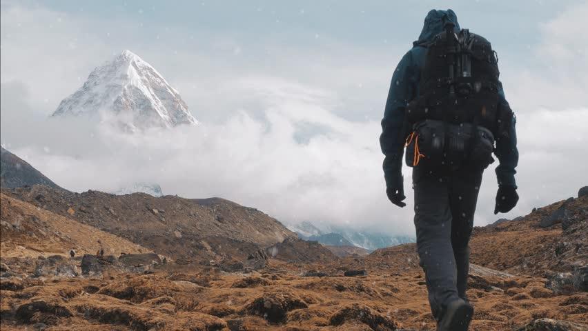 Trekking To Everest Base Camp | Shutterstock HD Video #1013521052