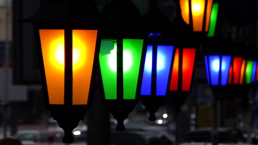 City art lighting | Shutterstock HD Video #1013595122
