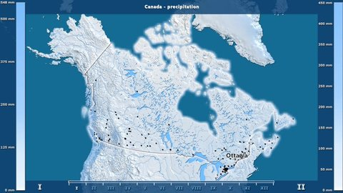 Map Of Canada With Labels.Canada Province Map Stock Video Footage 4k And Hd Video Clips
