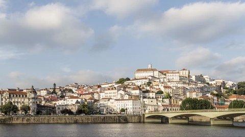 Coimbra downtown timelapse