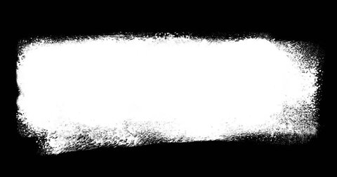 High resolusion loop able animated art titles with hand painted watercolor brush lines. Black and white for custom use.