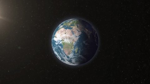 Earth planet animation
