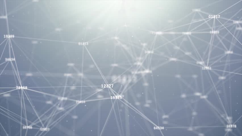 White Numerical Counting With Connected Dots lines Futuristic technology abstract background. Beautiful plexus with numbers. Animation. Business Concept. | Shutterstock HD Video #1013922902
