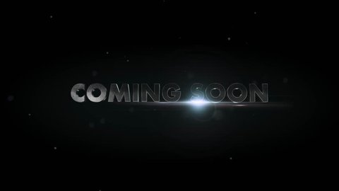 Movie Trailer Titles impact 3D text for movie trailers