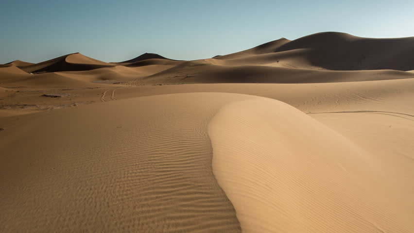 The amazing Erg chebbi dunes in the sahara desert, morocco | Shutterstock HD Video #10140002