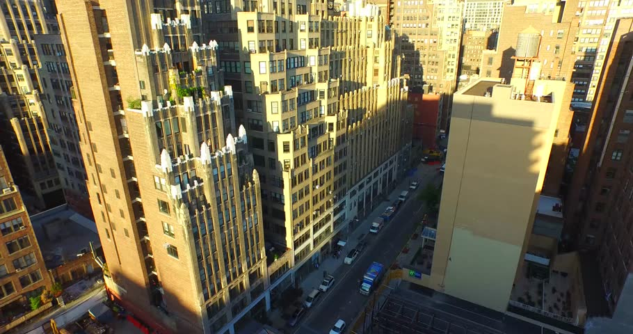 4K Aerial Flying Towards the Empire State Building   Shutterstock HD Video #10140962