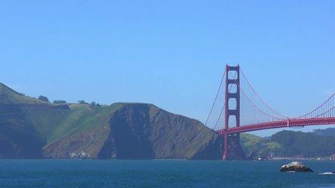The Golden Gate Bridge as seen from Baker Beach, San Francisco, California