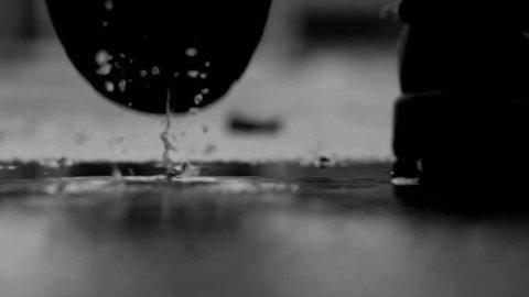 walking away feet legs walk rain