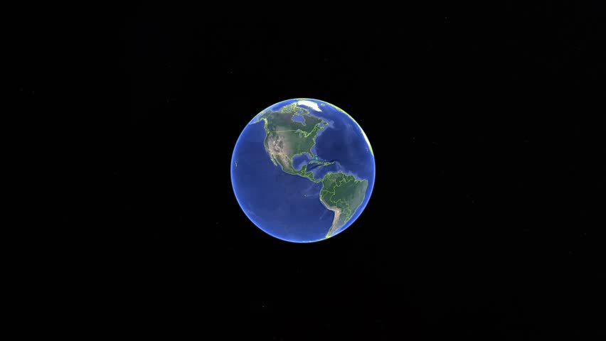 Finland with flag. 3d earth in space - zoom in Finland outer, created using ultra high res NASA