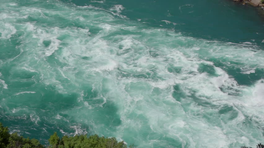 Riding Over Niagara Whirlpools Whitewater | Shutterstock HD Video #1014654182
