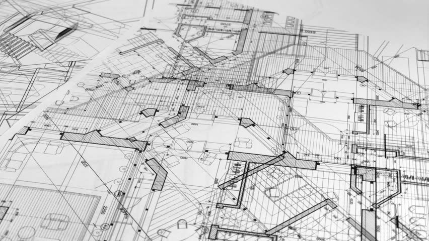 Marvelous Blueprints Architectural Drawings Architectural Stock Footage Wiring Digital Resources Funapmognl