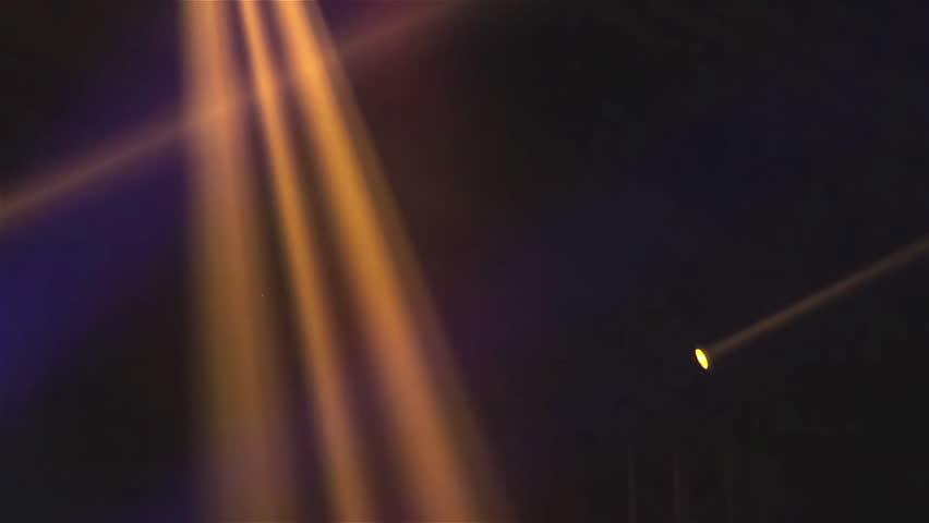 Stage Lights. Spotlight at concert   Shutterstock HD Video #10150682