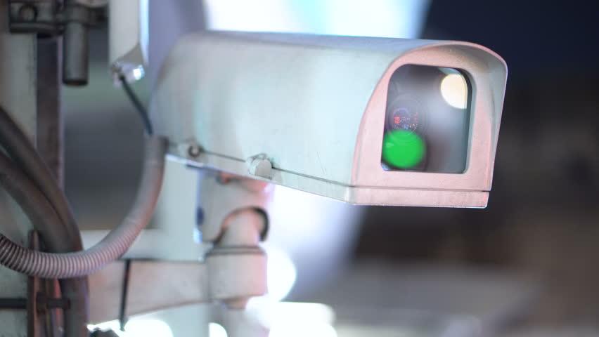 CCTV Camera Close Up | Shutterstock HD Video #1015116892