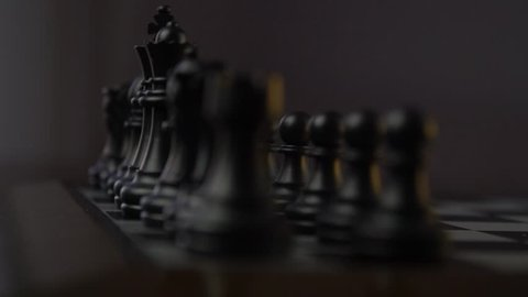 business man chess figures  strategy concept