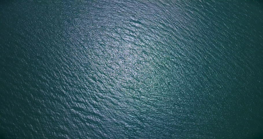 Aerial: Never endless sea surface view,   | Shutterstock HD Video #1015352062