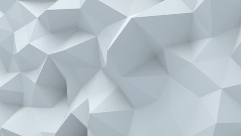 Abstract polygonal background loopable