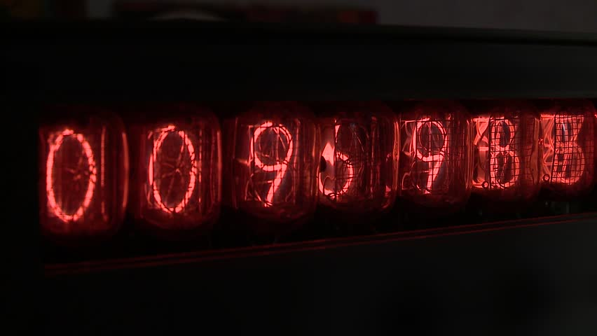 Nixie device Numbers