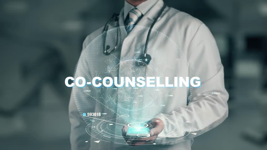 Doctor holding in hand Co-counselling | Shutterstock HD Video #1015964182