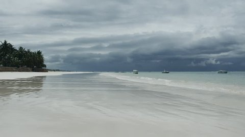 Diani Beach in Kenya near Mombasa