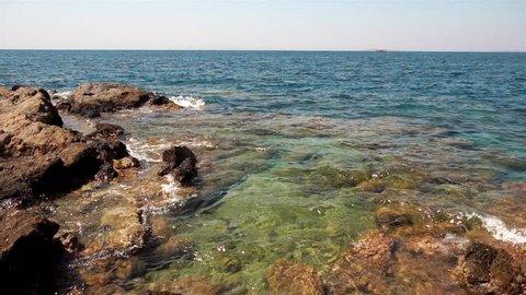 beauty rocky beach