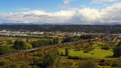 Business and industrial district auburn Washington USA