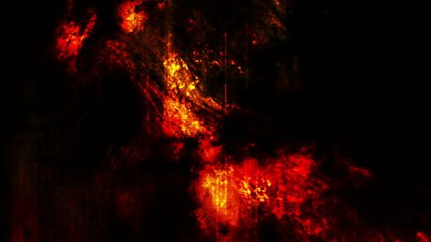 Darkness and red abstract animated grunge horror background loop