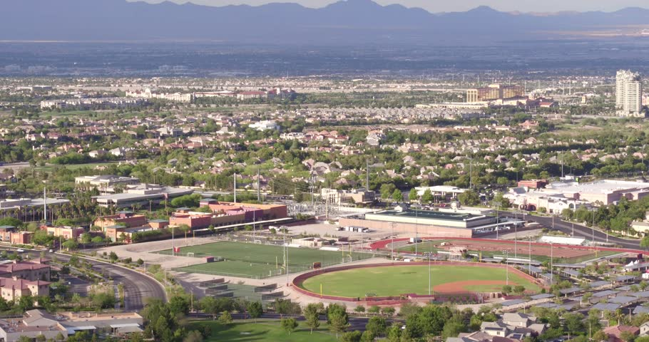 Summerlin, Las Vegas Aerial Footage   Shutterstock HD Video #1016974402