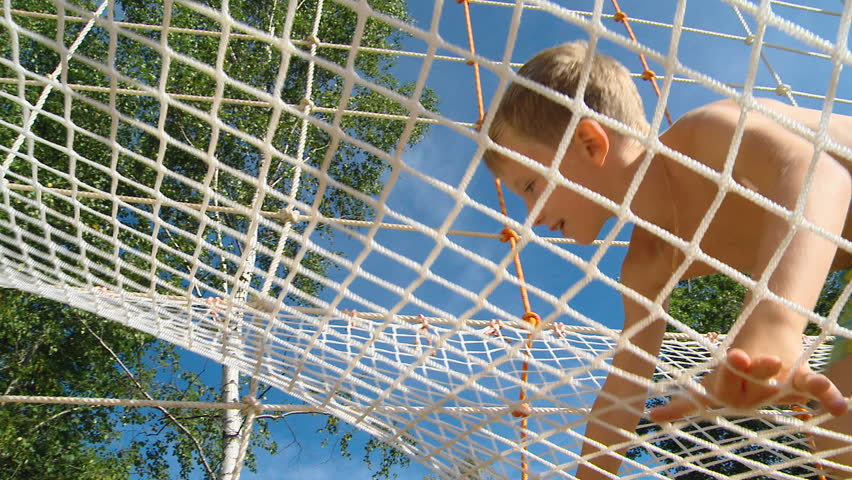 Boys Play In The Playground  | Shutterstock HD Video #1017126202