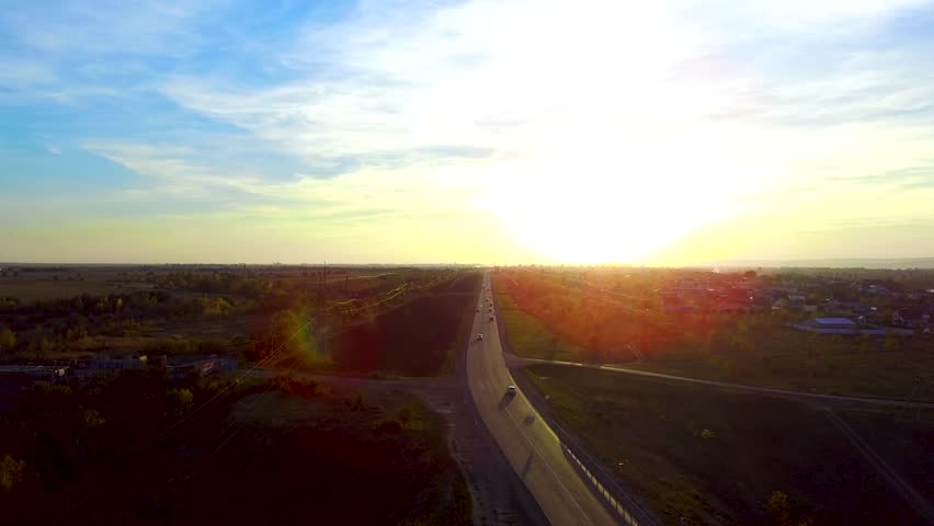 The road goes to the sun | Shutterstock HD Video #1017661942