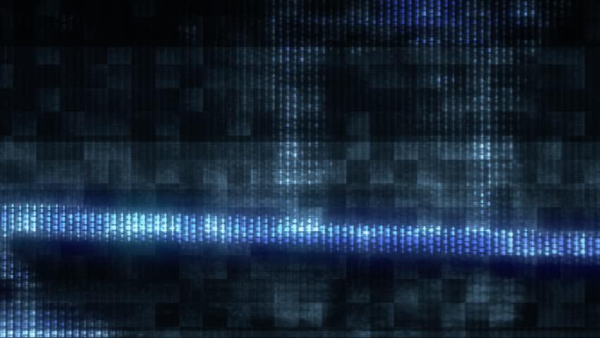 Futuristic digital TV glitch (Loop). | Shutterstock HD Video #1017958942