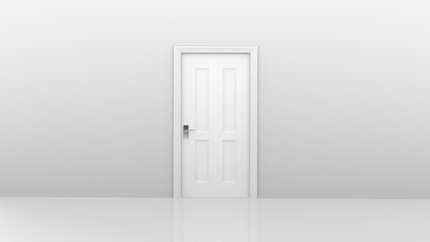 Freedom and enlightenment concept of a white door opening to heavenly clouds - HD stock video  sc 1 st  Shutterstock : stock doors - pezcame.com