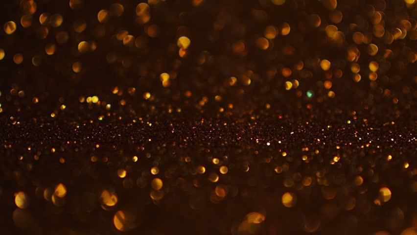 Golden glitter Christmas background. #1018532812