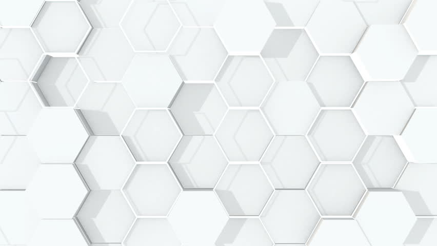 Abstract hexagonal geometric surface. | Shutterstock HD Video #1018785082