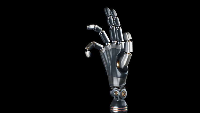 Cyborg Robotic Arm During Test Stock Footage Video (100% Royalty-free)  1019568982 | Shutterstock